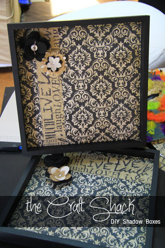 Craft Shack DIY Shadow and Art Box