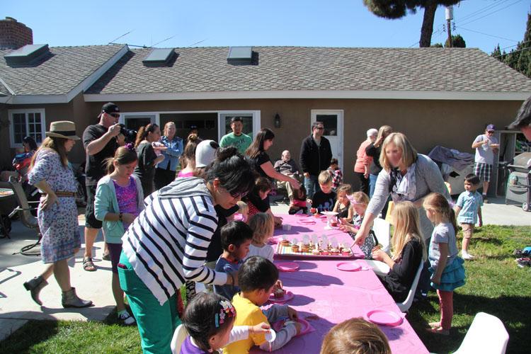 The Craft Shack - Backyard Birthday party