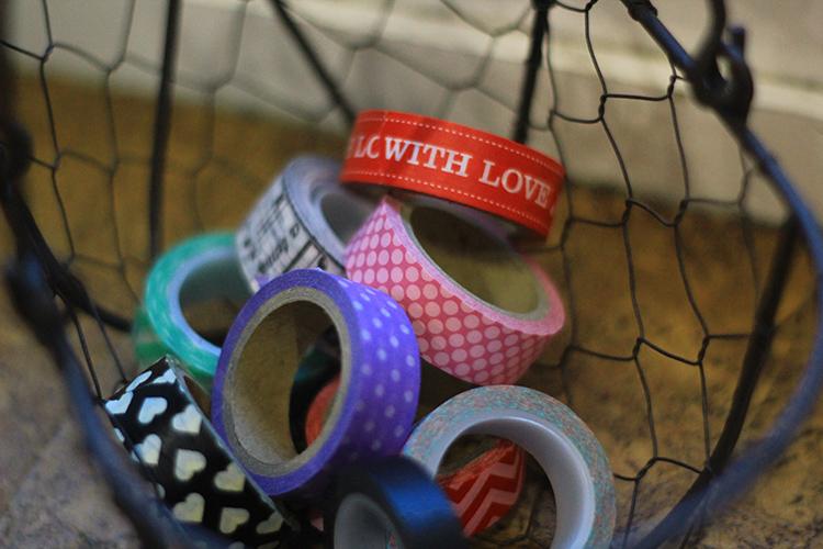 Valentine washi tape | The Craft Shack